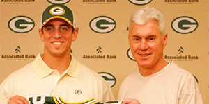 Ted Thompson - Aaron Rodgers - Green Bay Packers